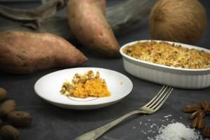 Organic Sweet Potato Yam Casserole