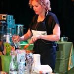 סדנת בישול עם עדנה מינץ בכנס אוכלים בריא 5