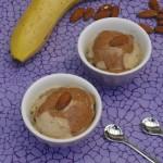 גלידה בננה ושוקולד