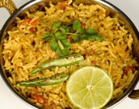 אורז שקדים וירקות - ללא גלוטן - אורז בסמטי מלא בסיסי