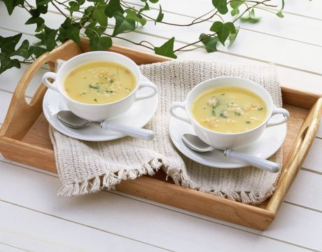 מרקים - מרק גזר וקישואים
