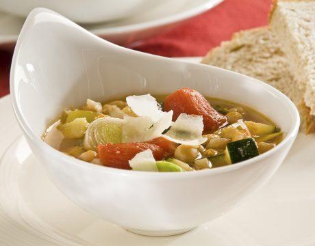מרקים - מרק חומוס וכרישה