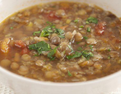 מרקים - Traditional Bulgarian Lentil Soup