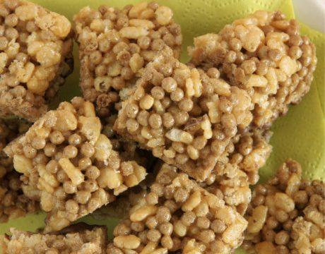 עוגיות שומשום ופצפוצי אורז - ללא גלוטן