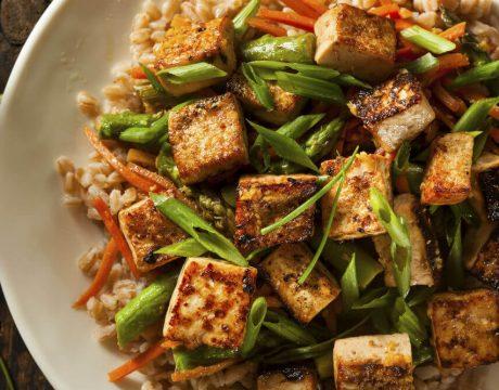 Homemade Tofu Stir Fry - מנות עיקריות