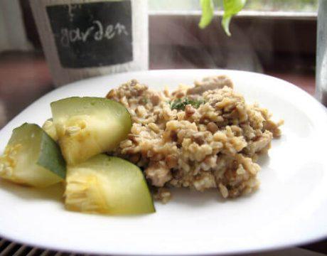 תבשיל כוסמת ואורז בסמטי