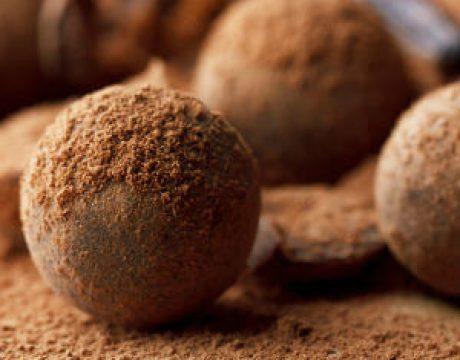 קינוחים ומאפים - כדורי שוקולד