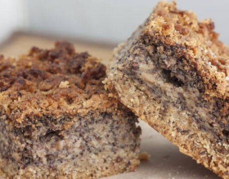 קינוחים ומאפים - עוגת פרג